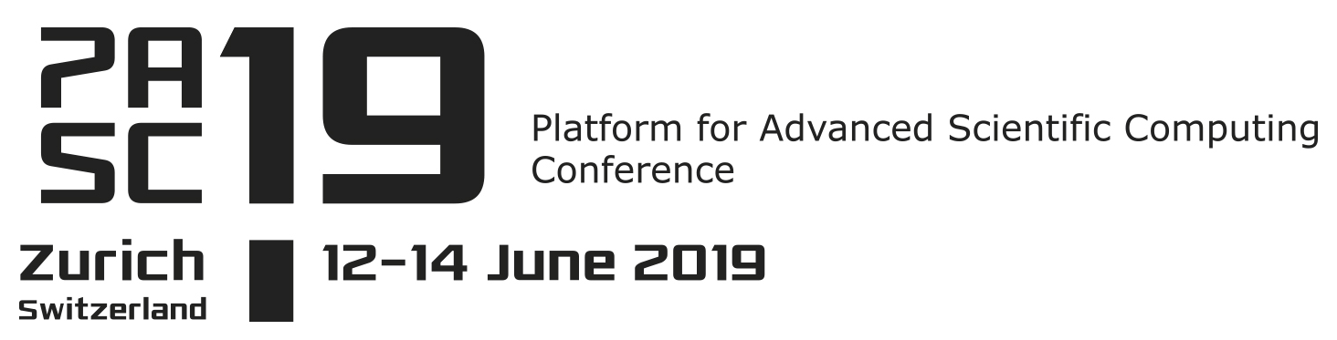 PASC19 Conference, 12-14 June 2019, ETH Zürich