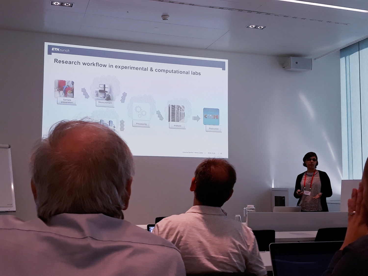 hpc-ch Forum: Henry Lütcke and Caterina Barillari (ETH Zurich) – Research Data Management at ETH Zurich