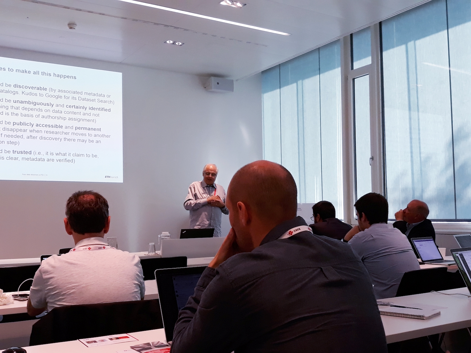 hpc-ch Forum: Mario Valle (ETH Zurich / CSCS) – Your Data Deserves a Permanent Identifier (PID)