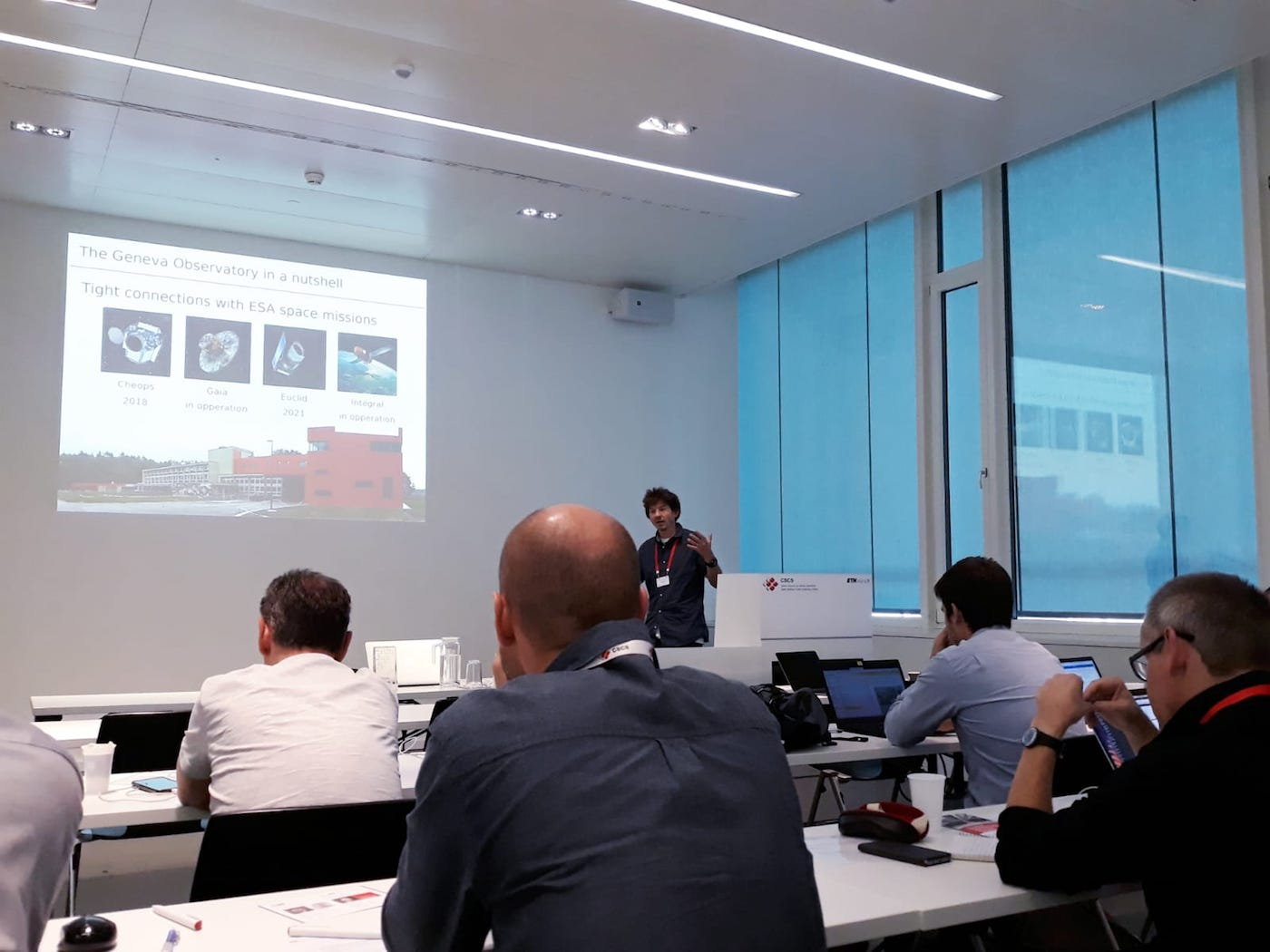 hpc-ch Forum: Yves Revaz (EPFL) – BeeGFS: the HPC Storage Solution Adopted at the Geneva Observatory