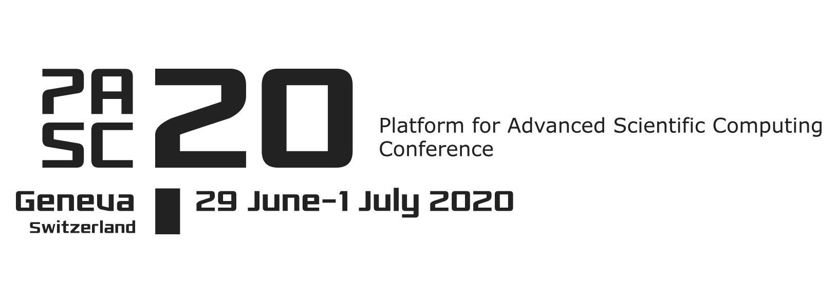 PASC20 Conference, June 29 to July 1, 2020, University of Geneva (Uni Mail)
