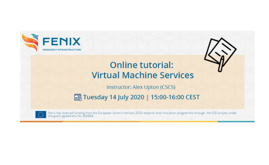 Fenix Online Tutorial: Virtual Machine services