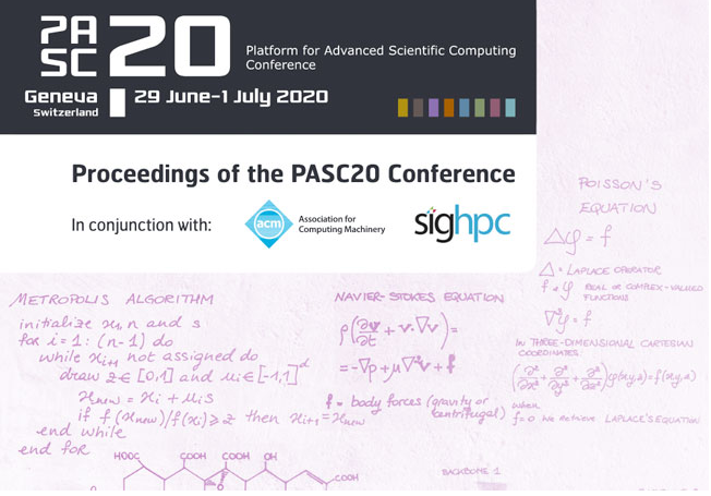 PASC20 Papers – Open Access via ACM's OpenTOC and Best Paper Award